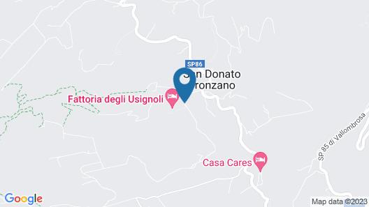 Hotel Fattoria degli Usignoli Map