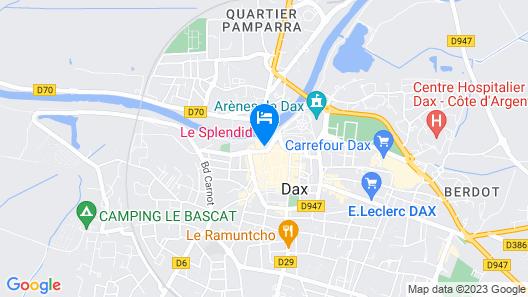 Hôtel & Spa Le Splendid Map