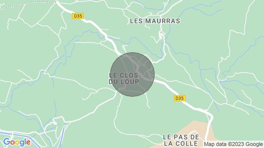 4 Bedroom Accommodation in St Julien L Montagnier Map