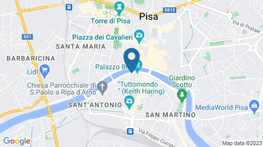 AwesHome - Lungarno Bellavista Penthouse Map