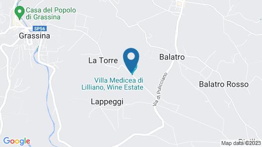 Villa Medicea di Lilliano Map