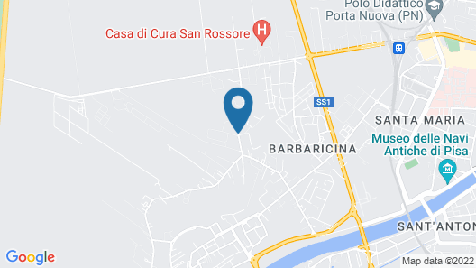 Residence San Rossore Map