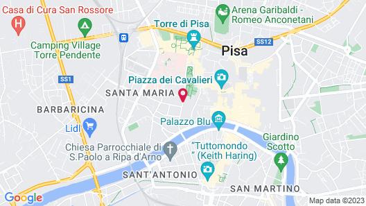 Hotel Amalfitana Map