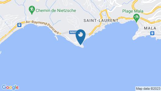 Hôtel Cap-Estel Map
