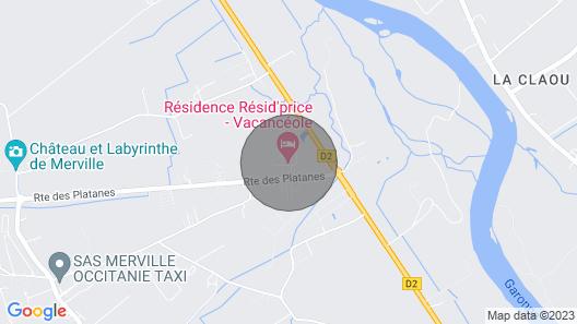 Wi-fi Gratuit ! Studio Climatisé Proche de Toulouse Map
