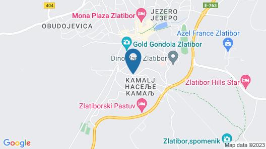 Hotel garni President Map