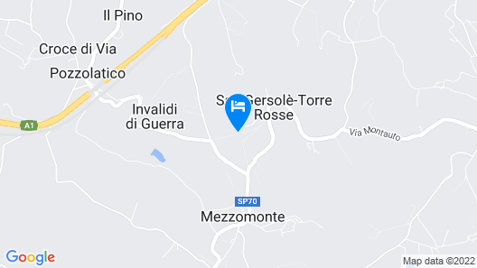 Tenuta Torre Rossa Farm & Apartments Map