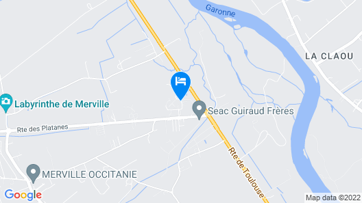 Hotel Resid'Price Map