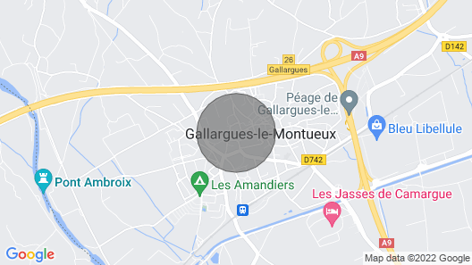 Charming Village House in the Heart of Gallargues-le-montueux Map