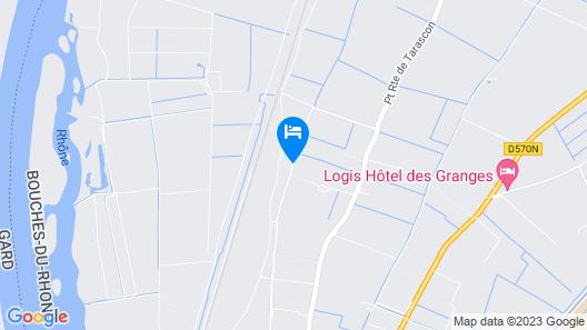 Hotel du Mas de la Chapelle Map