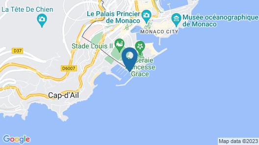 Résidence Le Quai des Princes Map