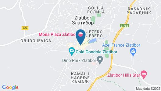 Alibi Zlatibor Inn Map