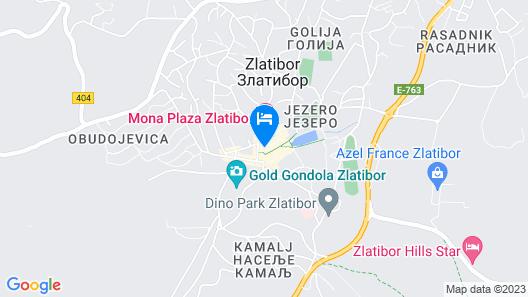 Central Inn Map