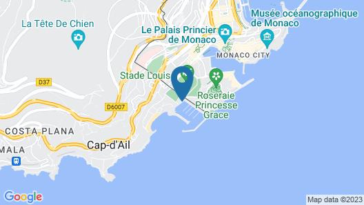 Riviera Marriott La Porte de Monaco Map
