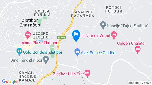 Ambasador Apartments Zlatibor Map