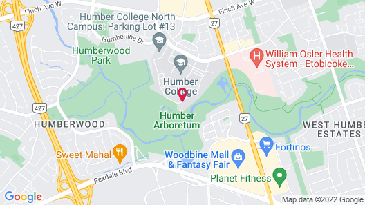 Humber College North Campus Residence Map