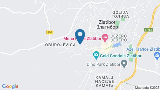 Vila Sofija Zlatibor Map