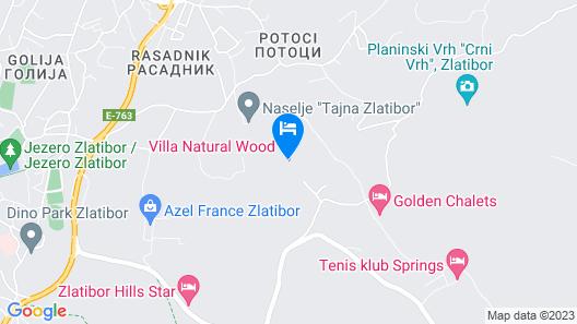Villa Natural Wood Map