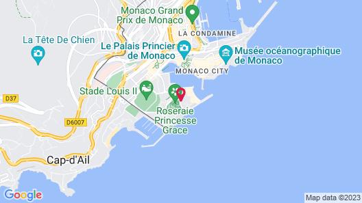 Columbus Monte-Carlo Map