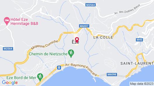 Chateau De La Chevre D Or Map