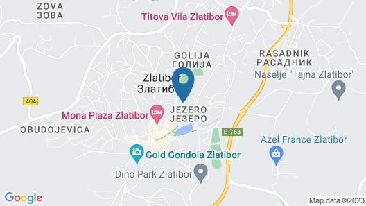 Hotel Palisad Map