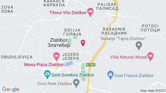 Hotel Iris Map