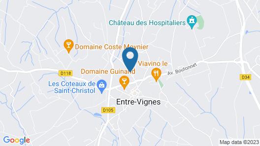 Terres de France - Le Domaine de Bacchus Map