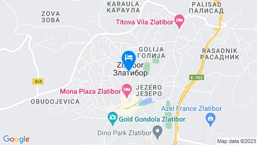 Apartments Egoiste - Centar Map