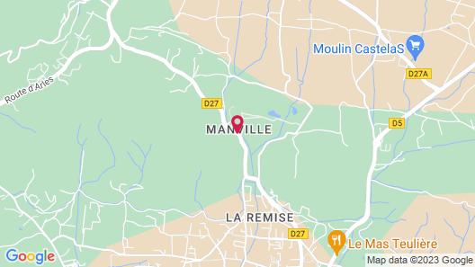 Domaine de Manville Map