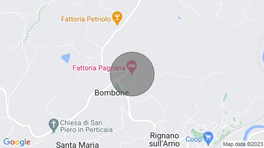 Country Estate Pagnana, Rignano Sull'arno Map