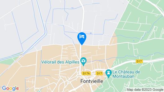 Auberge des Balastres Map