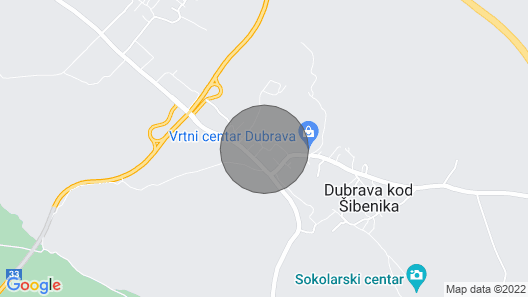 2 Bedroom Accommodation in Dubrava Map