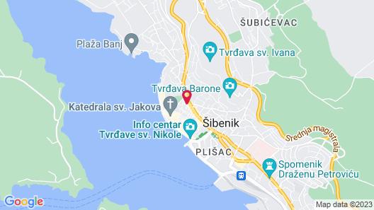 Aurum Apartments Map