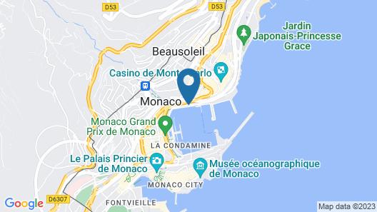 Hotel Port Palace Map