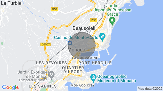 Charming Renovated 1BR Apart. In Heart Of Monaco Map