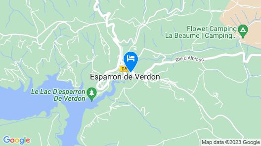 Château D'esparron Map