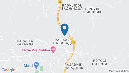 Villa Lovac Map