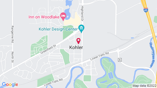 The American Club Map