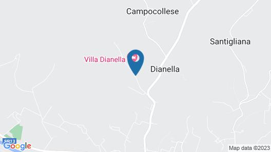 Villa Dianella Map