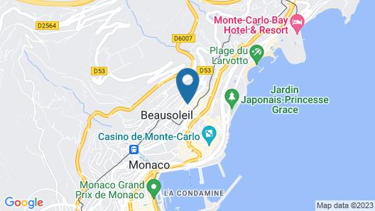Aparthotel Adagio Monaco Palais Josephine Map