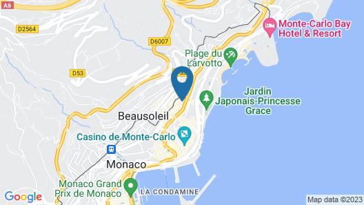 Monte Carlo Center 3 Map