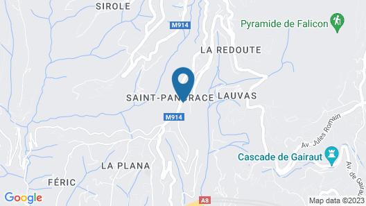 Villa 5 étoiles Nice St Pancrace Map