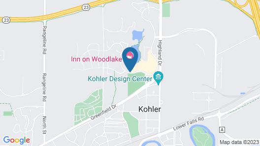 Inn On Woodlake Map