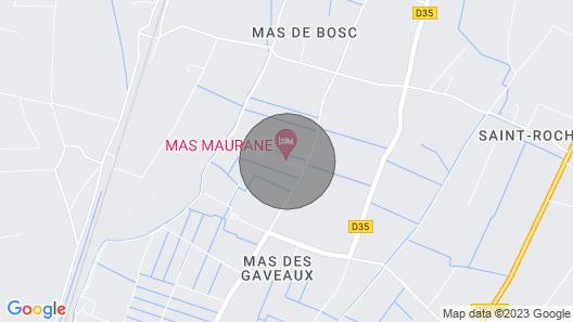 Lavandes, MAS Maurane, Tarascon Map