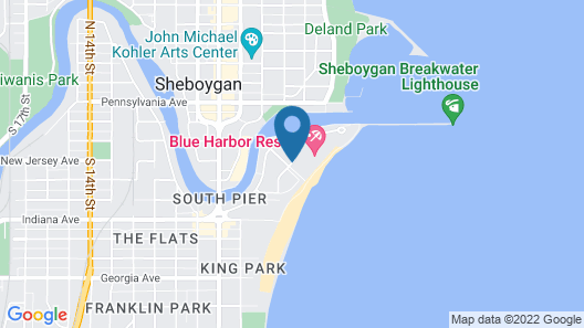 Blue Harbor Resort and Spa Map