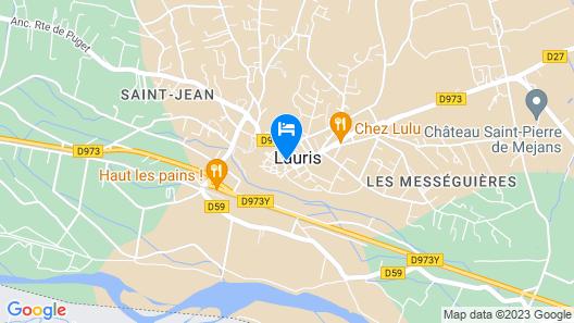 Le Terebinthe - Gite Map