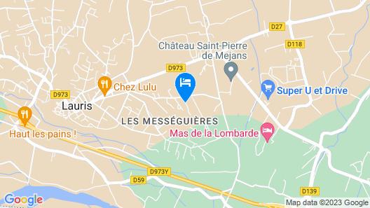 Villa Maryse Map