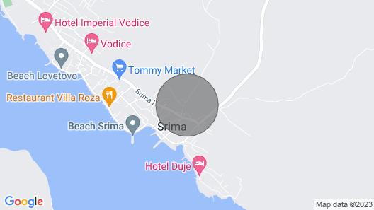 Apartments Villa Adriana I - Srima Map