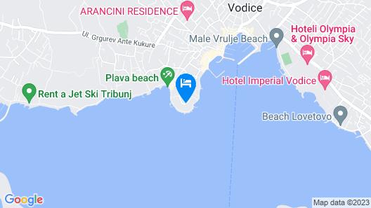 Villas Arausana&Antonina Map