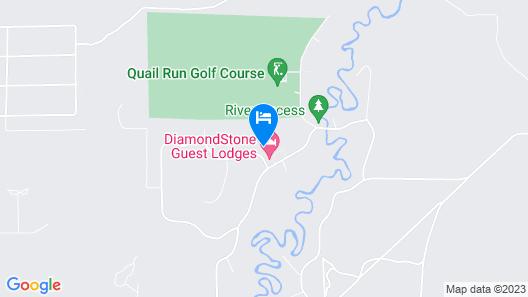 DiamondStone Guest Lodges Map
